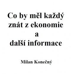 Co by měl každý znát z ekonomie a další informace - E-verze